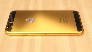 Apple i phone 6 plus GOLD unboxing and 360 tour