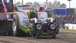 Green Monster @ Füchtorf 2017 Tractor Pulling