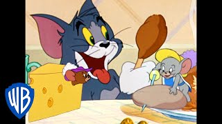 Tom & Jerry | Food Fight! | Classic Cartoon Compilation | WB Kids