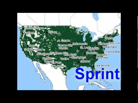 Compare cell phone carriers: Coverage & Plans (3 of 5) Sprint vs Top Secret No Contract Cell