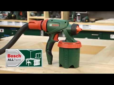 Bosch Farbsprühsysteme PFS 5000 E - Anwendungsvideo