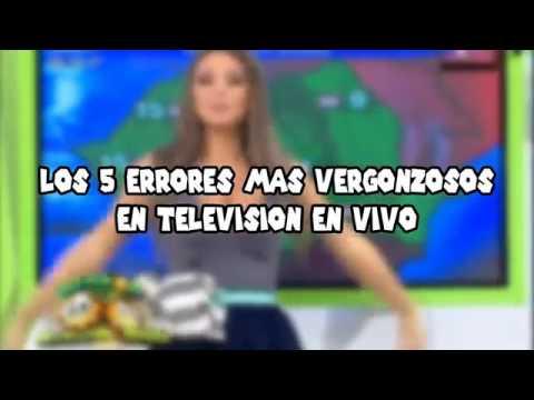 Errores en la tv en vivo