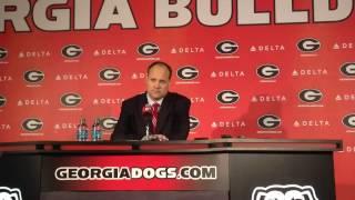 Georgia coach Mark Fox on win over Missouri
