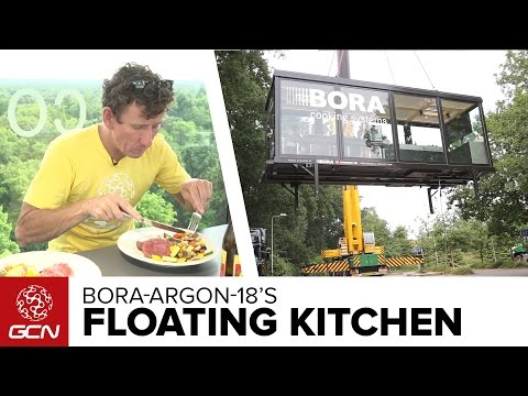 Dining In The Sky With Bora-Argon 18   Tour De France 2015