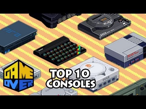 Top 10 Consoles Mais Vendidos - Game Over