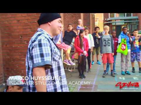 Stylez underviser i dans på SKS i Aarhus Festuge