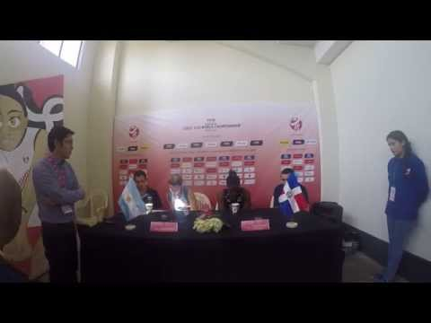 FIVB Volleyball Girls' U18 World Championship Argentina x Dominica Press conference