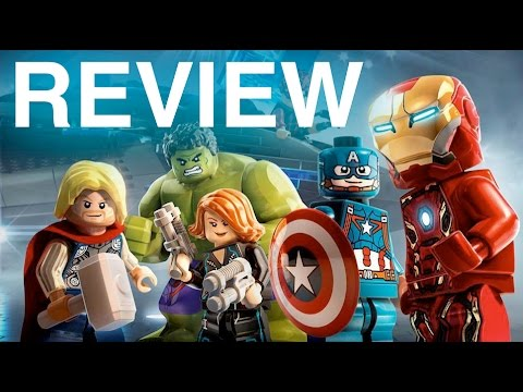 LEGO Marvel's Avengers Video Game Review 1080p 60fps
