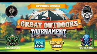 Golf Clash - Great Outdoors - Pro and Expert Opening Round