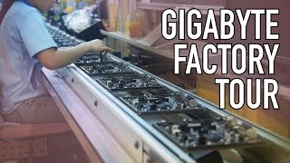 Computex 2016 - Gigabyte Factory Tour