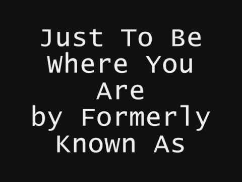 Lifehouse - Just To Be Where You Are