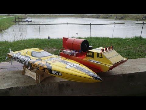Открываем лодочный сезон ... TFL Hobby Pursuit Racing Boat и АЭРОСАНИ