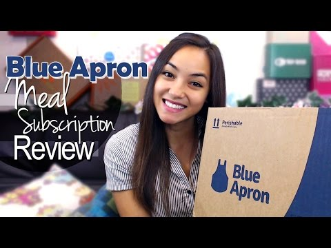 Blue Apron Meal Subscription Review - Oct 2014