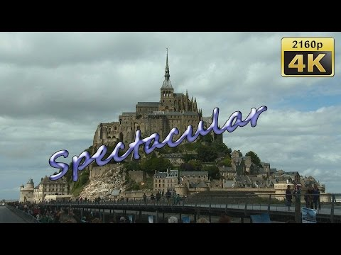 Mont Saint Michel, Normandy - France 4K Travel Channel