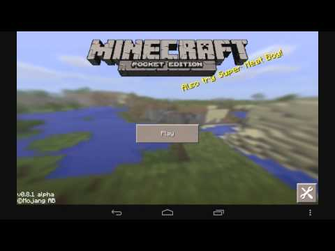 How to install mods on Minecraft Pocket Edition 0.8.1 Android