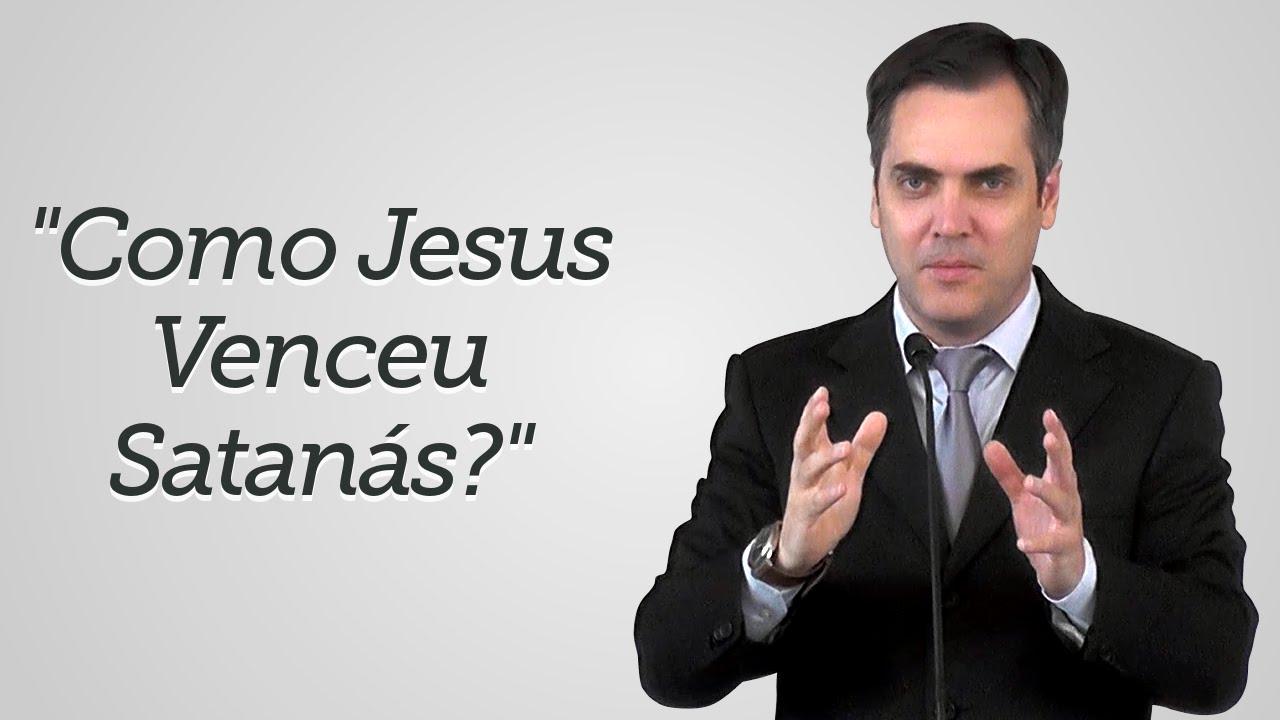 """""""Como Jesus Venceu Satanás?"""" - Leandro Lima"""