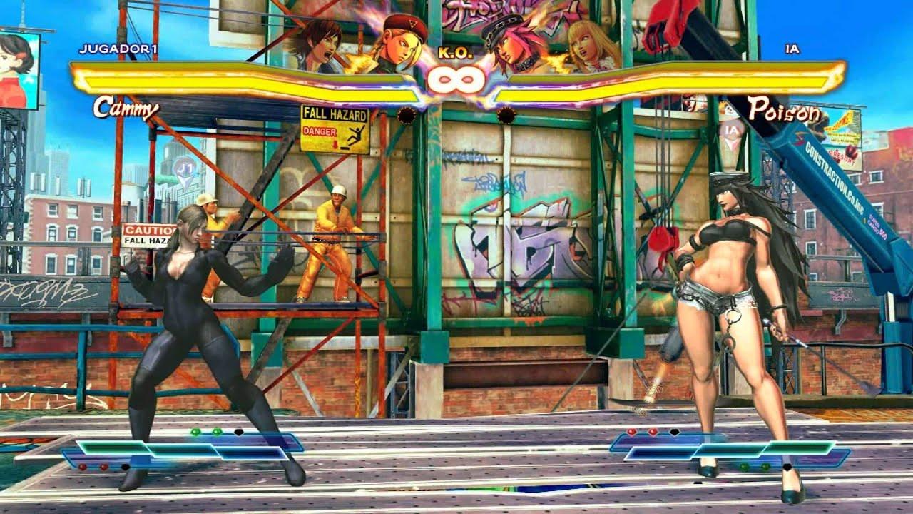 Street fighter x tekken nud pron scene
