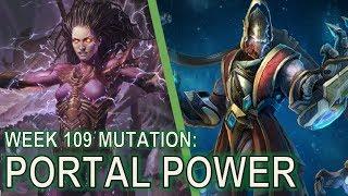 Starcraft II Co-Op Mutation #109:  Portal Power