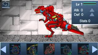 Dino Robot BattleField Walkthrough