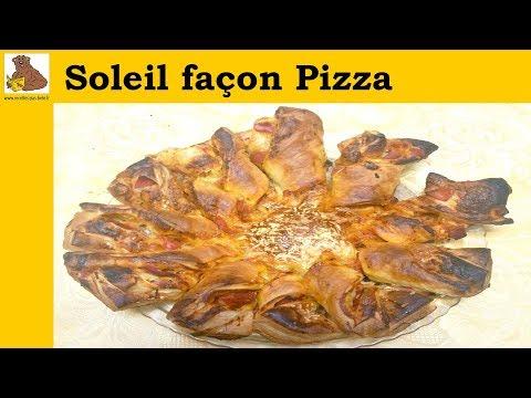 Soleil façon Pizza - recette rapide et facile