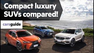 Volvo XC40 vs Lexus UX vs BMW X2 2019 comparison review