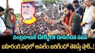 Pawan Kalyan Sensational Comments On AP CM Chandrababu Naidu | Pawan Kalyan Tekkali Speech | TTM
