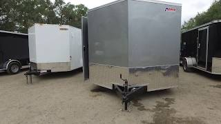8.5x20 Pace American - Enclosed Trailer [Silver]
