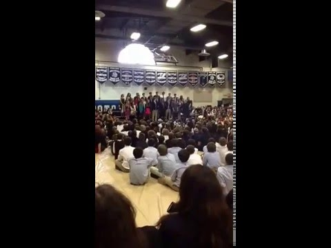 The Potomac School Chorus singing Baba Yetu