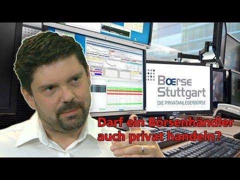 Frag' Richy: Darf ein Börsenhändler auch privat handeln | Börse Stuttgart | Frag Richy