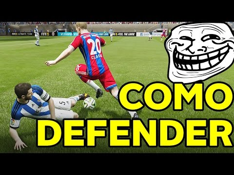 FIFA 15 TUTORIAL CÓMO DEFENDER EN ULTIMATE TEAM PARODIA