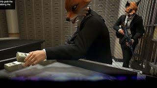 [GTA V: Heist Finale] Bank overval! En vluchten - The Pacific Standard Job - Ep6 (GTA5)