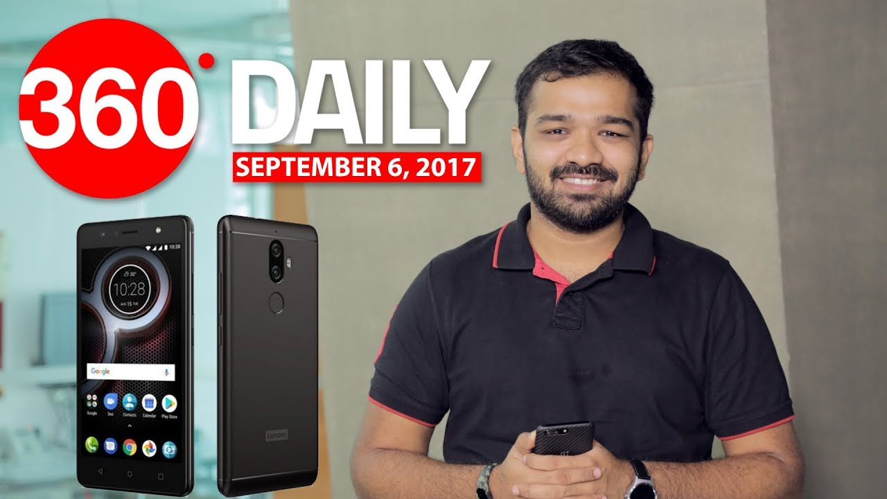 Lenovo has launched the K8 Plus in India today as a Flipkart-exclusive. It follows the Lenovo K8 Note by sporting a dual rear camera setup, a large 4000mAh battery, apart from running stock Android 7.1.1 Nougat. The K8 Plus also features a dedicated music button on the left panel that controls playback and can be further customised as a launcher. Another highlight of the new Lenovo smartphone is its Dolby Atmos support for better speaker and headphone performance. The Lenovo K8 Plus price in India is Rs. 10,999, and it will go on sale via Flipkart on Thursday, September 7. Other specifications include an octa-core MediaTek Helio P25 SoC coupled with 3GB and a 3-megapixel Purecel Plus sensor with and a second 5-megapixel depth sensor.Jio continues to lead in 4G download speedsAccording to TRAI's MySpeed app, Jio continues to lead when it comes to 4G download speeds. The telecom giant recorded a 18.331Mbps peak download speed for the month of August. Vodafone (9.325Mbps) and Idea ..