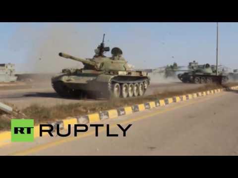 Libya: Misrata Militias enter IS-held Sirte