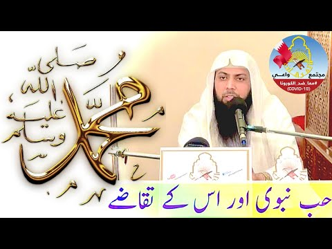 Hab E Nabvi Or Is Ke Taqaze Qari Sohaib Ahmed Meer Muhammadi video