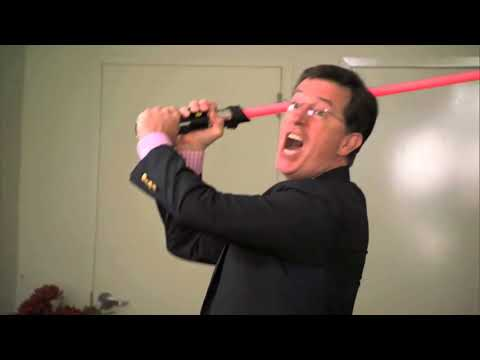 Jon Stewart and Stephen Colbert battle for title of World's Biggest Star Wars Fan!