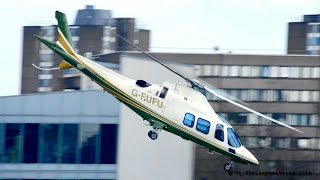 *Incredible departure* Agusta-Westland A109 Grand at London Heliport!