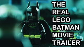 The Real Lego Batman Movie Trailer
