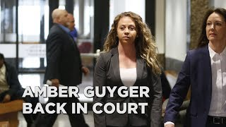 Amber Guyger back in court, trial date set