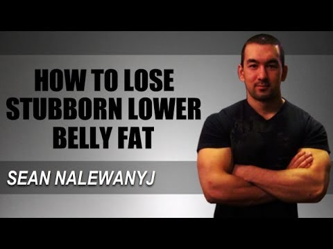 How To Lose Stubborn Lower Belly Abdominal Fat