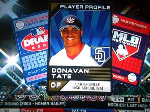 2009 MLB Draft 3rd Pick: Donavan Tate