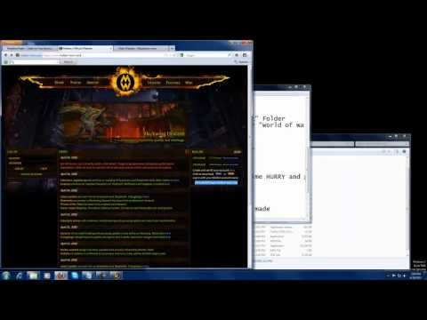 How to install Molten WoW (Cataclysm) Easy no torrents Part1