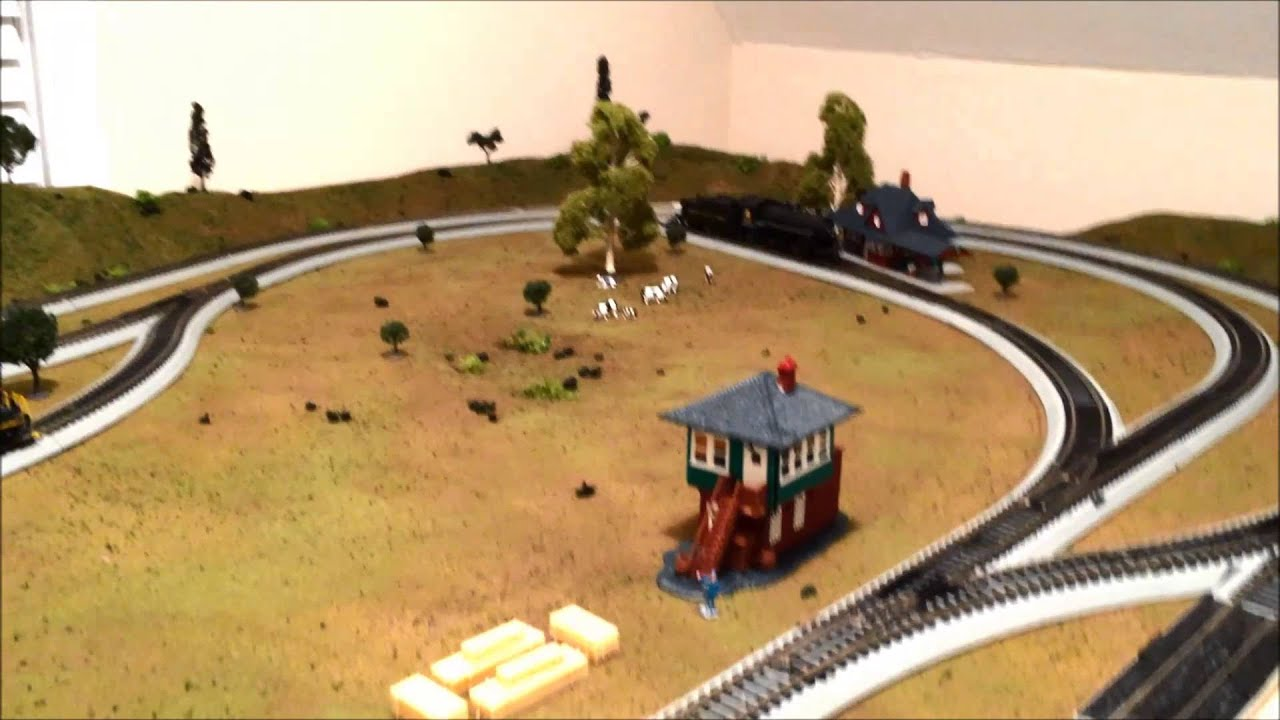 Episode 3 ho scale 4x8 layout amp scenery complete youtube