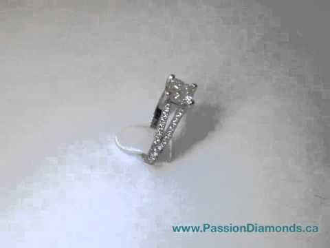 Cushion Diamond Engagement Ring by Passion Diamonds, Vancouver, BC