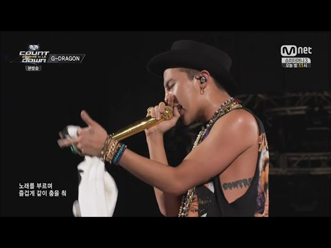 G-dragon - 'crayon(크레용)' 0814 Mnet K-con 2014 video