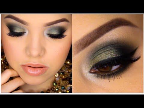 Golden Olive Smokey Eye Tutorial