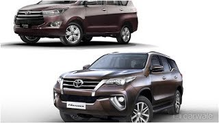 2019 Toyota Innova Crysta and Fortuner updated with new features | CAR NEWS 2019