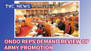 Ondo Reps demand review of Army promotion over alleged marginalisation