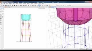 SAP2000-Structural Modeling of Elevated Water Tank