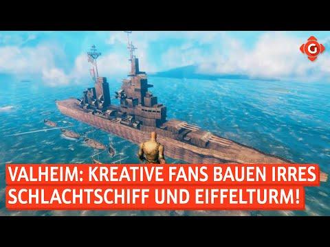 Valheim: Schlachtschiff und Eiffelturm nachgebaut! Xbox Game Pass: Neue Spiele im März! | GW-NEWS