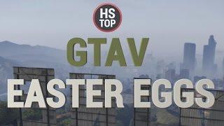 Top 15 Easter Eggs ★ GTA V